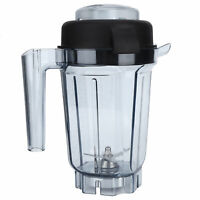 For Vitamix , 32-oz Transparent Blender Container Accessories w/ Lid & Blade