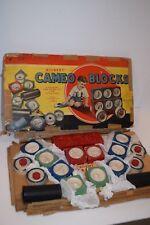 Vintage 1920's Gilbert Cameo Blocks Building Set