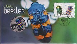 Australia Stamps 2016 Jewel Beetles Medallion PNC Insect Entymology 271-280/3500