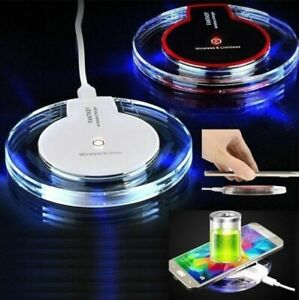 Fast Qi Wireless Charger Charging Pad For Apple Iphone 11 8 Plus X XS Samsung S8