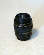 Canon EF 85mm f/1.8 USM Lens in mint condition