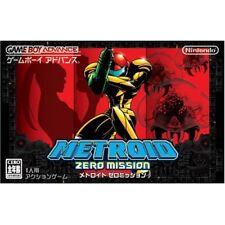 RARE! NEW GBA METROID ZERO MISSION Game Boy Advance Nintendo JAPAN Japan