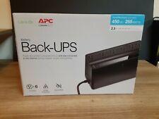 APC BN450M 120V 6 Outlet Back UPS Brand new. Unopened unit.