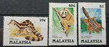 MALAYSIA 1985 PROTECTED ANIMALS SG 310 - 312 MNH OG FRESH