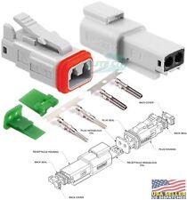 Molex Waterproof - 2 Pin Connector w/14-18 AWG - ML-XT™