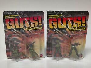 Mattel Vintage 1986 GUTS Soldiers Ground Troops Squad 2 Pack Figure Set NIP