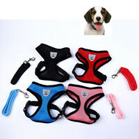 Cat Walking Jacket Harness and Leash Pets Puppy Kitten Clothes Adjustable Vest H