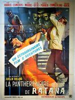 Plakat Kino La Panthere Schwarz Von Ratana - 120 X 160 CM