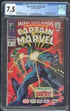 MARVEL SUPER-HEROES 13 CGC 7.5 3/68 1ST APP CAROL DANVERS 2ND CAPTAIN MARVEL