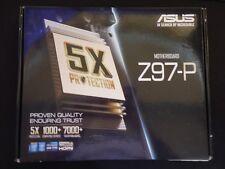 ASUS Z97-P, LGA 1150/Socket H3, Intel (90MB0JP0-M0EAY0) Motherboard