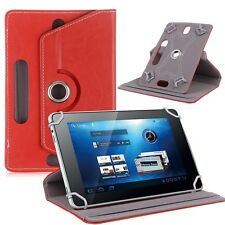 360° Rotating PU Leather Folio Case Cover Stand For Samsung Tab Android Tablet