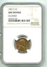 1931-S Lincoln Wheat Cent (UNC) NGC BETTER DATE!! LOOK! NO RESERVE!!