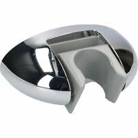 Chrome Adjustable Angle Hand-held Shower Head Holder Wall Mount Screw In Bracket