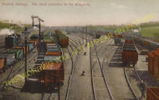 Shildon Railway Station Photo. Bishop Auckland to Heighington and Stockton. (1)