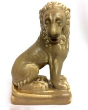"ROOKWOOD 6 1/2"" LION  #6019 FIGURAL Circa 1928 MARKED by LOUISE ABEL"