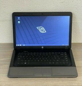 HP 655 Laptop, AMD E2-1800 1.7GHz, 4GB RAM, 120GB SSD, LinuxOS, Good Batt. PSU