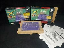 Rare Super Nintendo XBAND Modem for SNES (Factory Sealed) and an opened one!!!