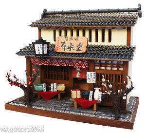 Doll House Miniature Model Kit Figure Handcraft Kyoto Pottery Shop Billy