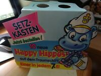 Happy Hippos Traumschiff, Palettenanhänger, D 1992, 100% Original Ferrero