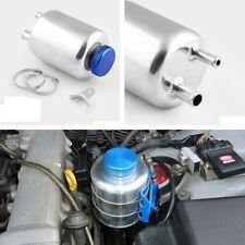 1x Vehicle Aluminum Racing Car Breather Power Steering Tank Fluid Reservoir Tank