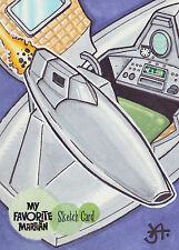 My Favorite Martian Sketch Card SK1 By Jeff Abar (A)