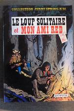 BD jerry spring n°15 le loup solitaire et mon ami red cartonné 1984 TBE jijé