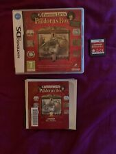 Professor Layton and Pandora's Box. Nintendo DS, 2DS, 3DS. Manual is included.