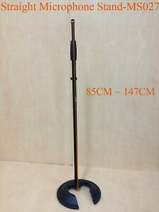 Haze MS027 Microphone Stand,Metal Structure,Straight,Stackable Cast Iron Base