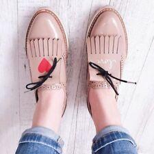 Zara Beige Platform Bluchers size 38,39, 40