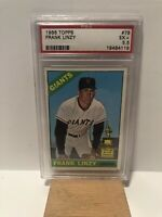 1966 Topps - Frank Linzy - San Francisco Giants - All-Star Rookie Cup - PSA 5.5