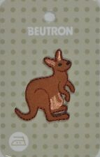 BEUTRON Iron On Motif Applique Kangaroo Australiana 9312919041984 BM6257 NEW