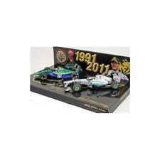 Minichamps 1/43 Schumacher 20th Anniversary F1 1991 & 2011 2 Car Set 413912011