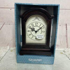 SHARP Grandfather Style Mantel Clock New SPC3042N