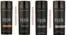 2X TOPPIK HAAR VERDICHTER HAIR BUILDING FIBERS XL  27,5 g  SCHWARZ BLACK