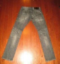 CULT OF INDIVIDUALITY mens SZ 31 x 33 black acid wash ROCKER slim fit jeans