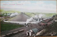 Scranton, PA 1910 Postcard: Hampton Coal Storage - Pennsylvania Penn
