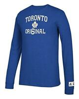 adidas Toronto Maple Leafs NHL Original 6 Long Sleeve Tri-Blend T-Shirt