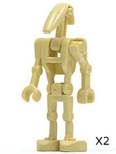 LEGO Star Wars - Battle Droid with 1 Straight Arm - (X2)  Minifig / Mini Figure