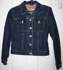 Guess Jean Jacket Size L (Junior or Petite)  EUC