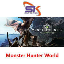 Monster Hunter World - PC Steam - Region Free【Very Fast Delivry】