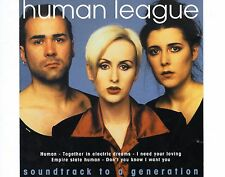 CD HUMAN LEAGUE soundtrack to a generation HOLLAND 1996 EX+