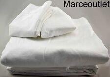 Frette Simply Cotton Sateen King Sheet Set White