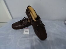 ZARAMAN MENS BROWN LEATHER LOAFERS SHOES UK 7/EU 41 RRP-£69.99