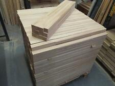 Solid Oak Pack 20 x Stop Chamfer White Oak Stair Spindles 41 x 900mm