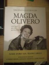 MAGDA OLIVERO libro biografia cantante lirica CON DEDICA E AUTOGRAFO