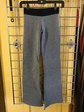 Nina Bucci Brazilian Activewear Gray Low Rise Yoga Pants for Fitness Workout Gym