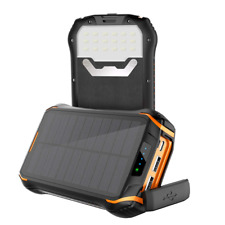 Soluser Solar Charger Portable Phone Charger 26800mAh Waterproof Solar Power 3
