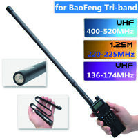 19'' ABBREE Tri-Band Tactical Antenna for Baofeng BF-R3 UV-82 III Two way Radio