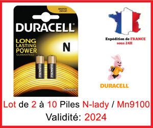 Lot de 2 à 10 Pile N Lady / LR1 / MN9100 / E90 - 1,5V DLC 2020