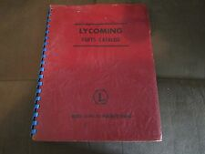 LYCOMING PARTS CATALOG ILLUSTRATED MODEL 0-290-D2 AIRCRAFT ENGINE FROM 1955